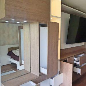 carpintería de mueble TV